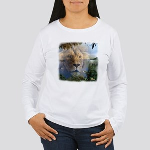 Lion and Lamb Women's Long Sleeve T-Shirt