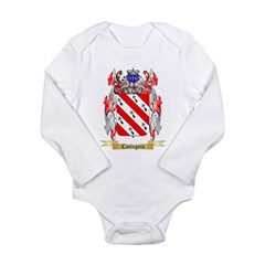 Castagnia Long Sleeve Infant Bodysuit