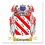 Castagnetto Square Car Magnet 3