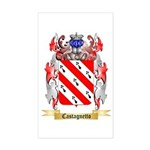 Castagnetto Sticker (Rectangle)