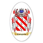 Castagnetto Sticker (Oval 10 pk)