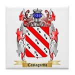 Castagnetto Tile Coaster