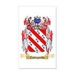 Castagnetta 35x21 Wall Decal