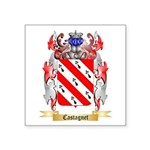 Castagnet Square Sticker 3