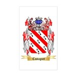 Castagnet Sticker (Rectangle)