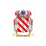 Castagnet Sticker (Rectangle 10 pk)