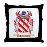 Castagnet Throw Pillow