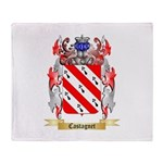 Castagnet Throw Blanket