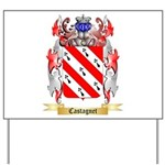 Castagnet Yard Sign