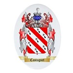 Castagnet Ornament (Oval)