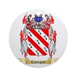 Castagnet Ornament (Round)