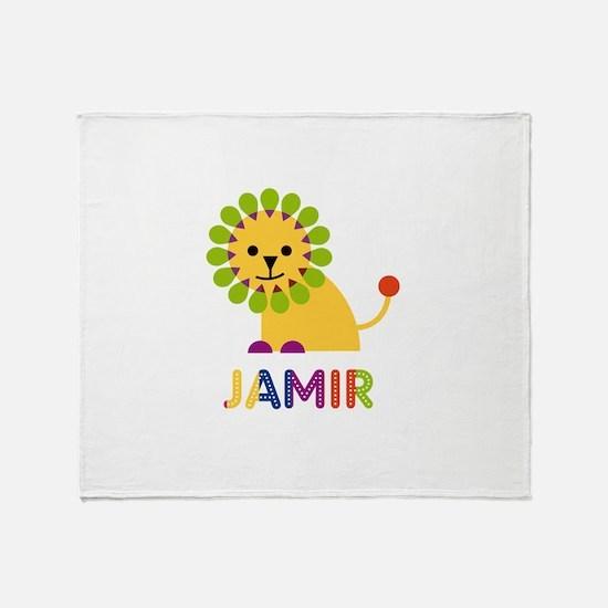 Jamir Loves Lions Throw Blanket
