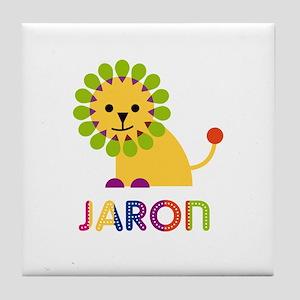 Jaron Loves Lions Tile Coaster