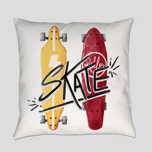 skate or die Everyday Pillow