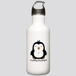 No Poking The Penguin Stainless Water Bottle 1.0L