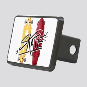 skate or die Rectangular Hitch Cover