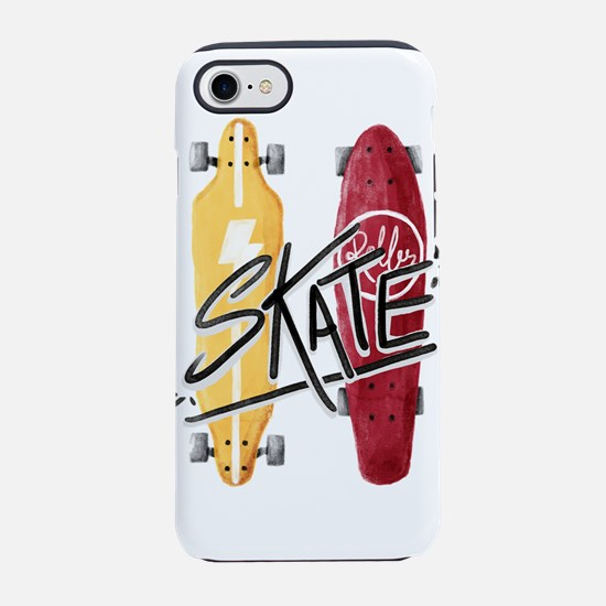 skate or die iPhone 7 Tough Case