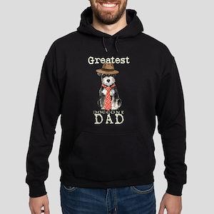 Mini Schnauzer Dad Hoodie (dark)