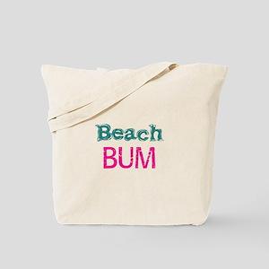 Beach Bum (pink) Tote Bag