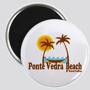 Ponte Vedra - Alligator Design. Magnet