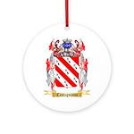 Castagnasso Ornament (Round)