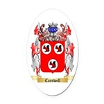 Casswell Oval Car Magnet