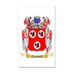 Casswell Rectangle Car Magnet
