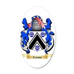 Casson Oval Car Magnet