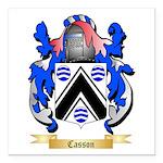 Casson Square Car Magnet 3