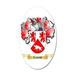 Cassidy 20x12 Oval Wall Decal
