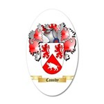 Cassidy 35x21 Oval Wall Decal