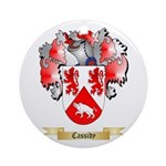 Cassidy Ornament (Round)