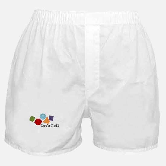 Lets Roll Boxer Shorts