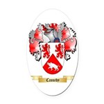 Cassedy Oval Car Magnet