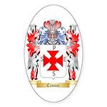 Cassar Sticker (Oval 10 pk)