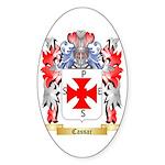 Cassar Sticker (Oval 50 pk)