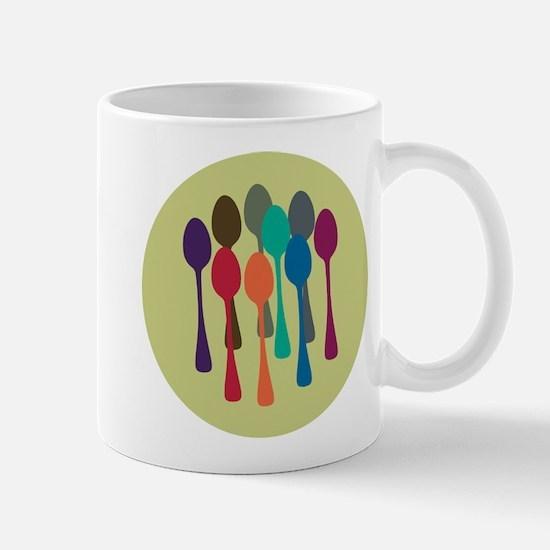 Pop Art Spoons Mug
