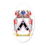 Cassan Oval Car Magnet