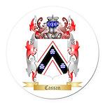 Cassan Round Car Magnet