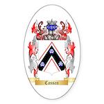 Cassan Sticker (Oval 50 pk)