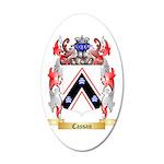 Cassan 35x21 Oval Wall Decal