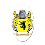 Caspers 35x21 Oval Wall Decal