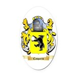 Casparis Oval Car Magnet