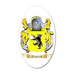 Casparis 20x12 Oval Wall Decal