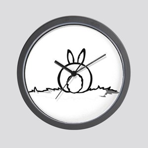 Cotton Tail Wall Clock