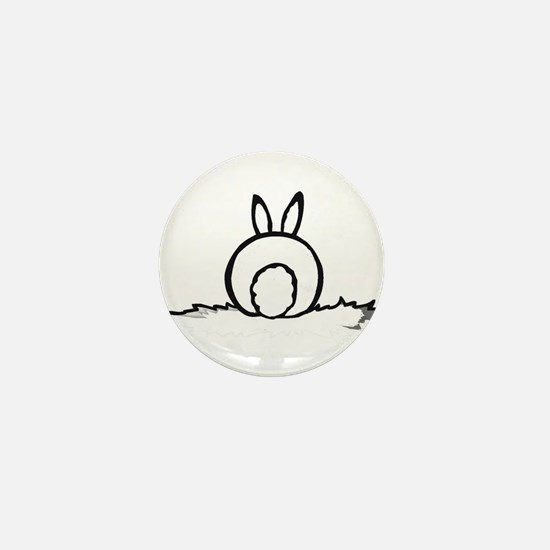 Cotton Tail Mini Button
