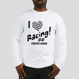 Custom Racing Long Sleeve T-Shirt