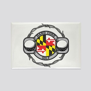 Maryland Golf Rectangle Magnet