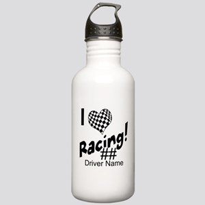 Custom Racing Water Bottle