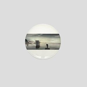 Evening Sailboats - Koson Ohara - 1900 - woodcut M